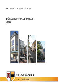Titelbild Bürgerumfrage 50plus - 2010
