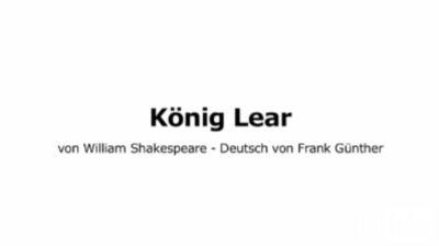 Video:Schlosstheater - König Lear (YouTube)